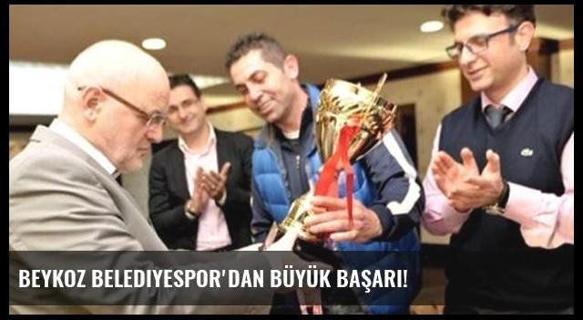 Beykoz Belediyespor'dan büyük başarı!