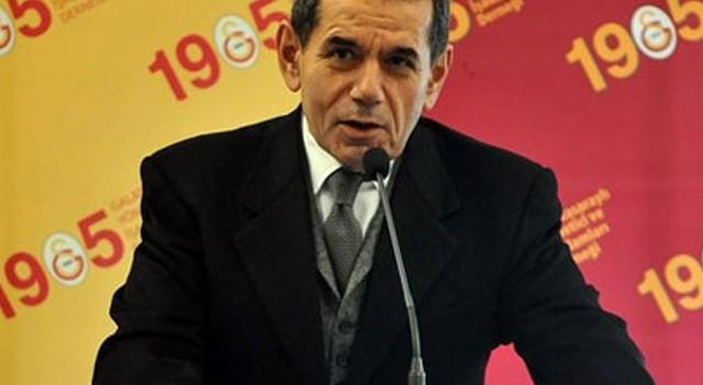 Galatasaray Başkanı Dursun Özbek müjdeyi verdi!