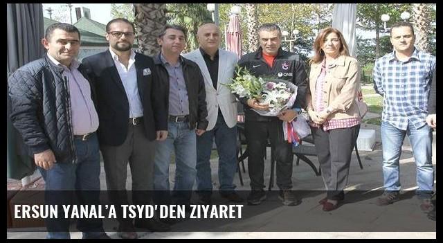 Ersun Yanal'a TSYD'den ziyaret