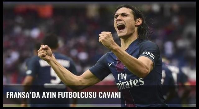 Fransa'da ayın futbolcusu Cavani