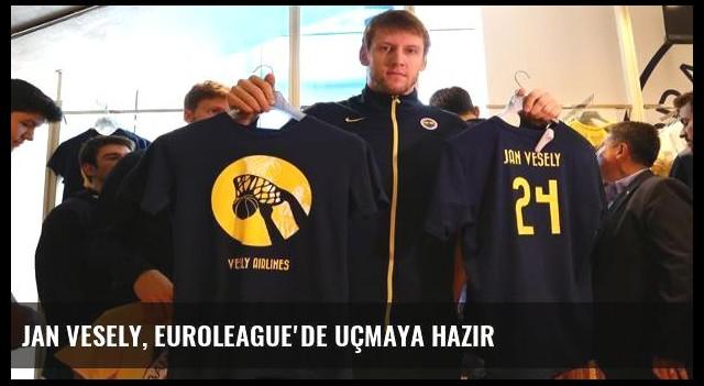 Jan Vesely, Euroleague'de uçmaya hazır