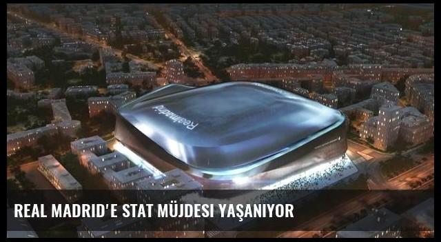 Real Madrid'e stat müjdesi yaşanıyor