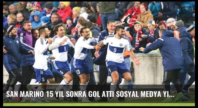 San Marino 15 yıl sonra gol attı sosyal medya yıkıldı