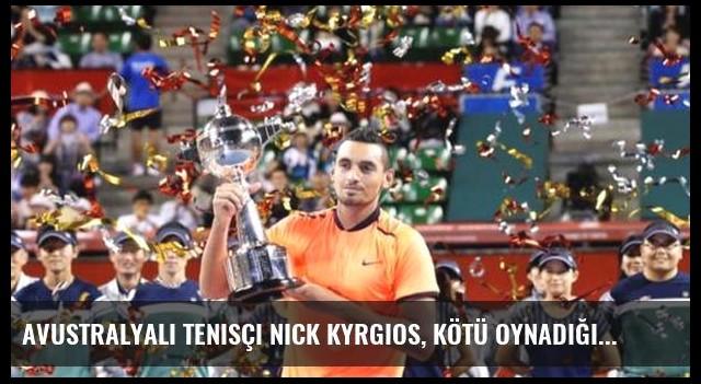 Avustralyalı Tenisçi Nick Kyrgios, Kötü Oynadığı İçin Para Cezası Aldı