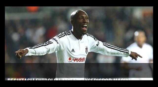 Beşiktaşlı futbolcu Atiba, Kayserispor maçıyla dalya diyecek