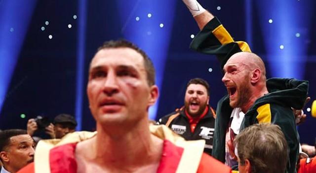 Boks şampiyonu Tyson Fury unvanlarını bıraktı!