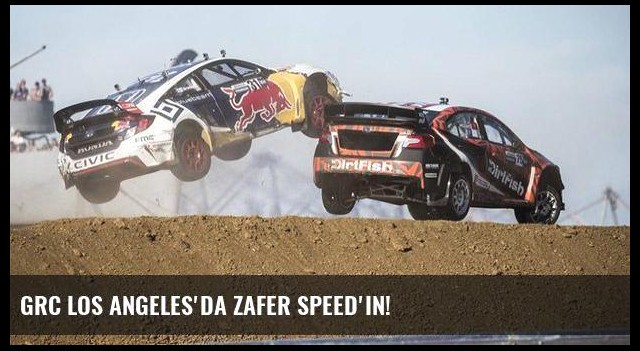 GRC Los Angeles'da zafer Speed'in!