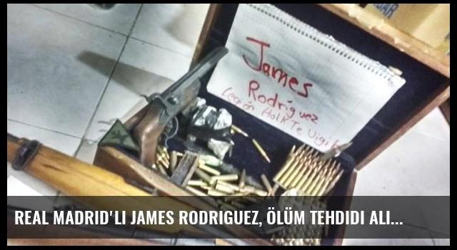 Real Madrid'li James Rodriguez, Ölüm Tehdidi Alıyor
