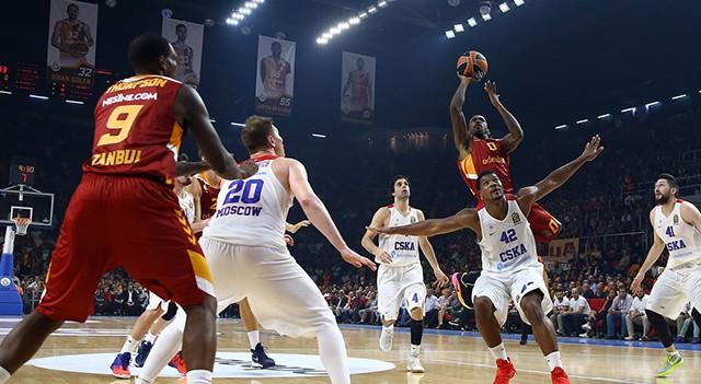 Galatasaray Odeabank: 84 CSKA Moskova: 109