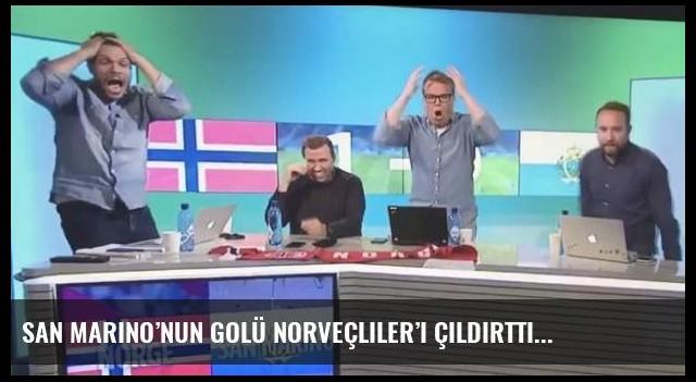 San Marino'nun golü Norveçliler'i çıldırttı
