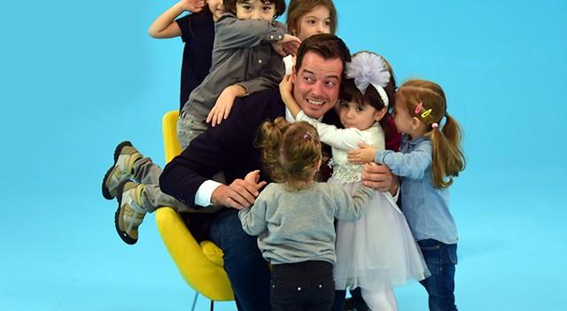1 Alp 3 Çocuk TV8'de başlıyor...