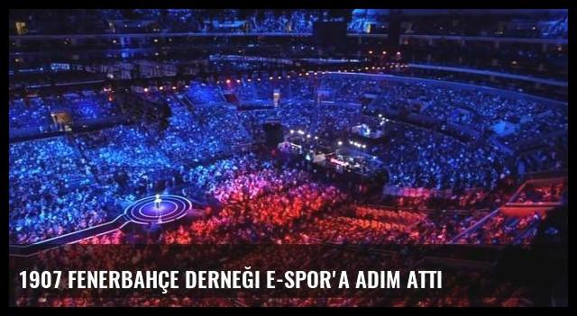 1907 Fenerbahçe Derneği e-spor'a adım attı