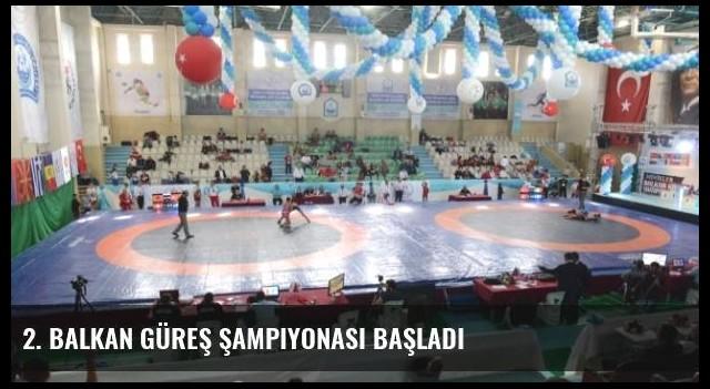 2. Balkan Güreş Şampiyonası Başladı