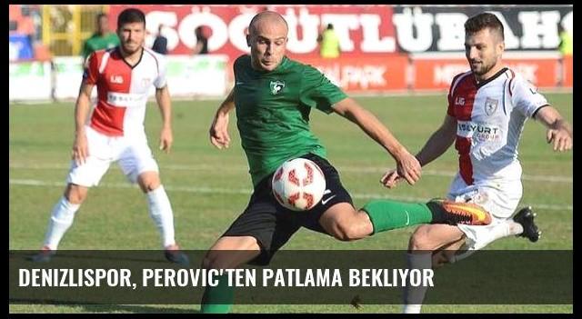Denizlispor, Perovic'ten patlama bekliyor