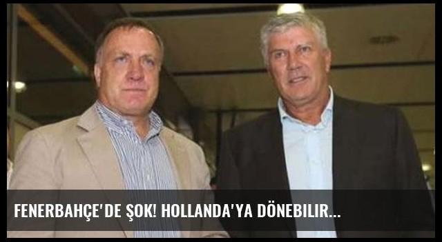 Fenerbahçe'de şok! Hollanda'ya dönebilir...