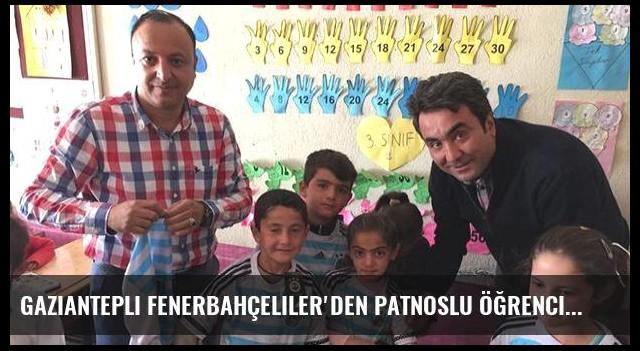 Gaziantepli Fenerbahçeliler'den Patnoslu öğrencilere destek