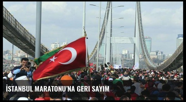 İstanbul Maratonu'na geri sayım