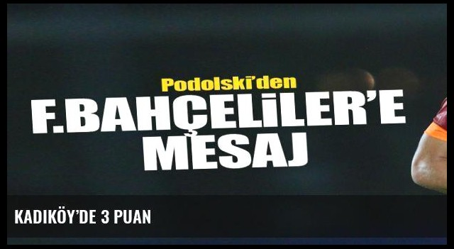 Kadıköy'de 3 puan