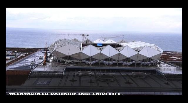 Trabzon'dan kombine için açıklama