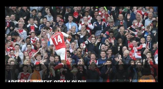 Arsenal, zirveye ortak oldu!