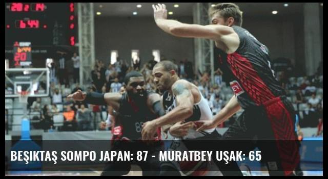 Beşiktaş Sompo Japan: 87 - Muratbey Uşak: 65