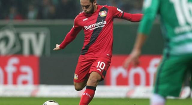 Hakan'ın tek golü Leverkusen'e yetmedi!