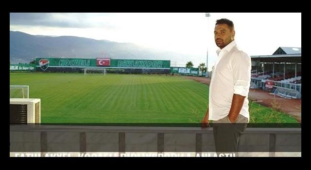 Fatih Akyel, Kocaeli Birlikspor'la anlaştı!