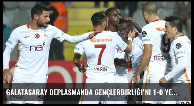 Galatasaray Deplasmanda Gençlerbirliği'ni 1-0 Yendi