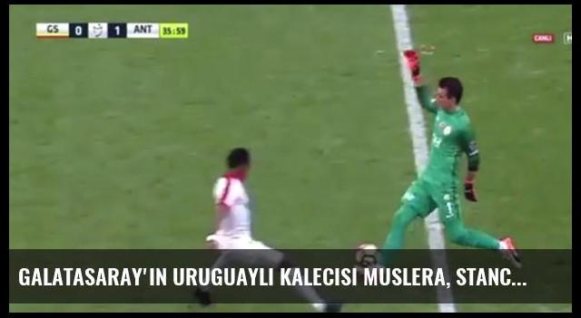 Galatasaray'ın Uruguaylı Kalecisi Muslera, Stancu'yu Çalımladı