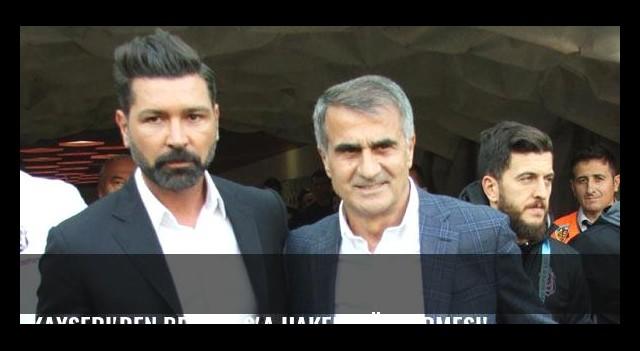 Kayseri'den Beşiktaş'a hakem göndermesi!