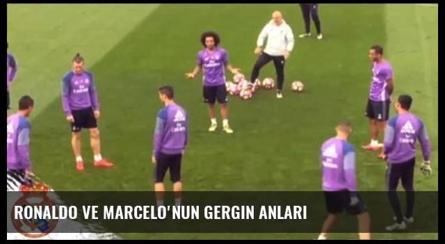 Ronaldo ve Marcelo'nun Gergin Anları
