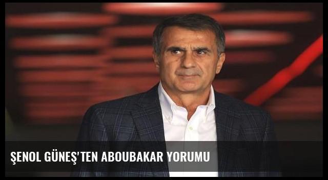 Şenol Güneş'ten Aboubakar yorumu