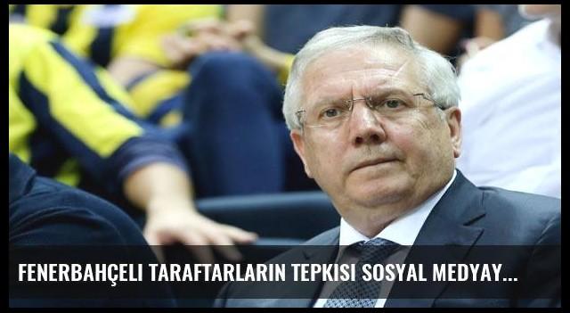 Fenerbahçeli taraftarların tepkisi sosyal medyaya sıçradı