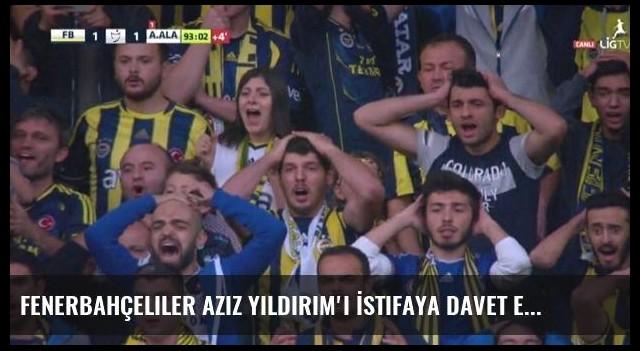 Fenerbahçeliler Aziz Yıldırım'ı İstifaya Davet Etti, Statta Kavga Çıktı