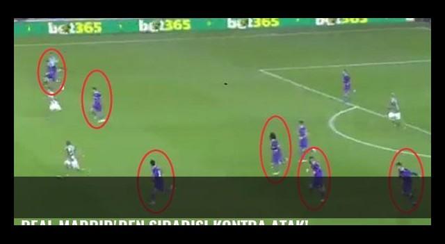 Real Madrid'den sıradışı kontra atak!