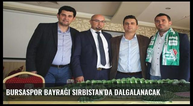 Bursaspor bayrağı Sırbistan'da dalgalanacak