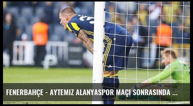 Fenerbahçe - Aytemiz Alanyaspor Maçı Sonrasında Caps'ler Patladı