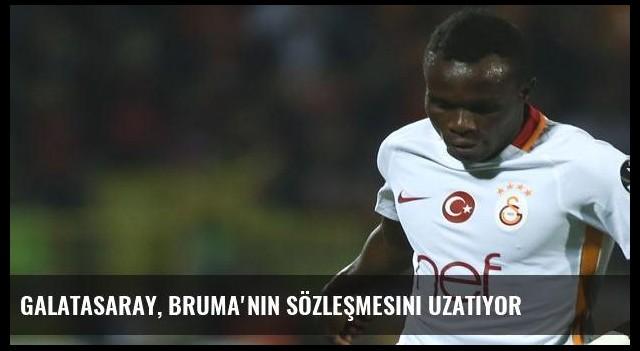 Galatasaray, Bruma'nın sözleşmesini uzatıyor
