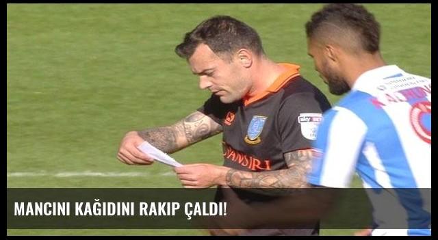 Mancini kağıdını rakip çaldı!
