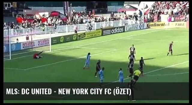 Mls: Dc United - New York City Fc (Özet)
