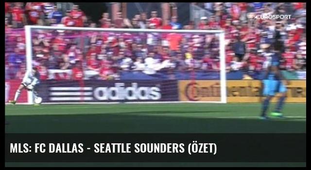 Mls: Fc Dallas - Seattle Sounders (Özet)