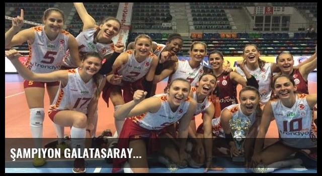 Şampiyon Galatasaray...