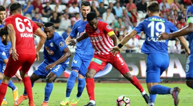 Antalyaspor - Çaykur Rizespor: 1-1