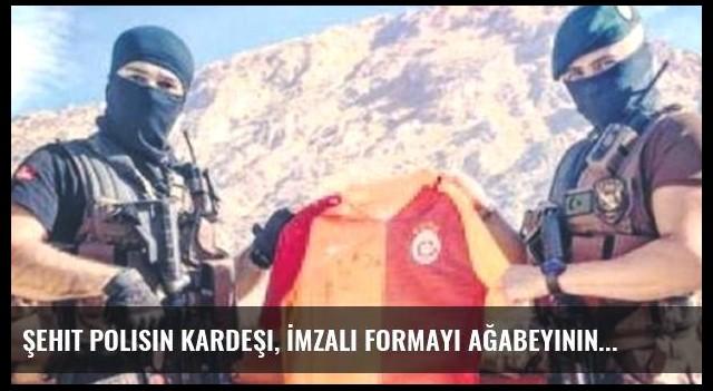 Şehit Polisin Kardeşi, İmzalı Formayı Ağabeyinin Bağlı Olduğu Karakola Yolladı