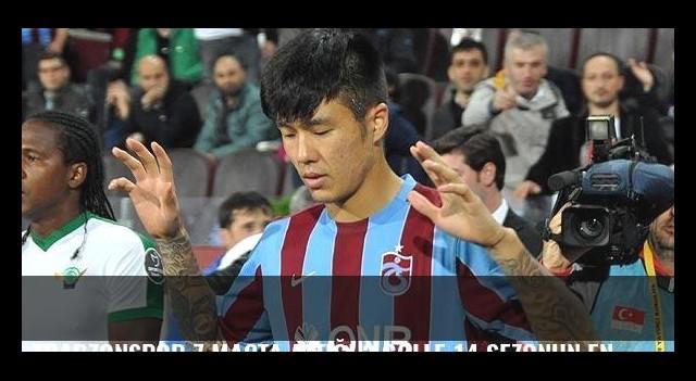 Trabzonspor 7 maçta attığı 3 golle 14 sezonun en kısır dönemini yaşıyor