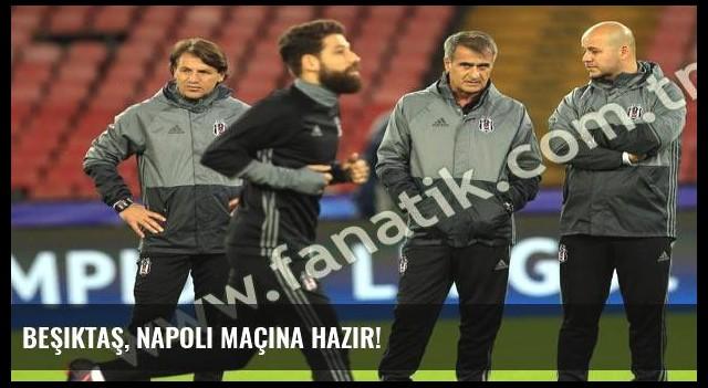 Beşiktaş, Napoli maçına hazır!