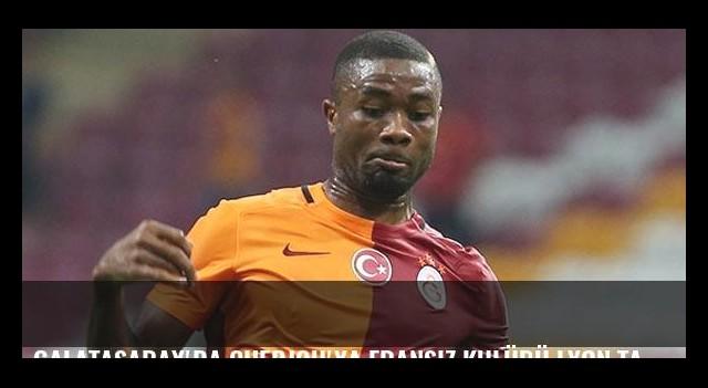 Galatasaray'da Chedjou'ya Fransız kulübü Lyon talip oldu