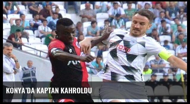 Konya'da kaptan kahroldu