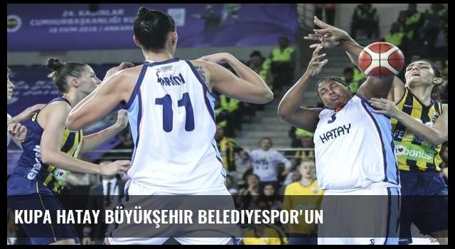 Kupa Hatay Büyükşehir Belediyespor'un