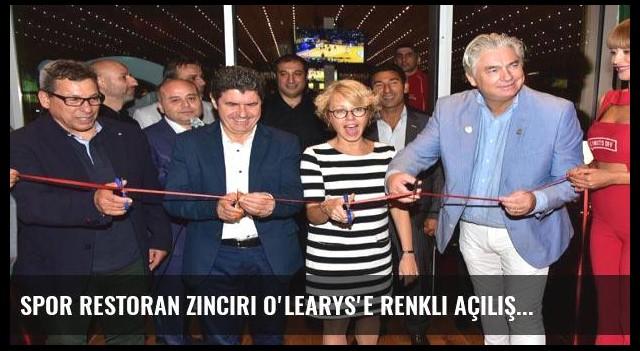 Spor restoran zinciri O'Learys'e renkli açılış